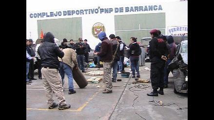 Barranca: incautan más de 600 kilos de clorhidrato de cocaína