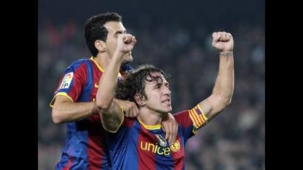 Sergio Busquets hereda el numero 5 de Barcelona del retirado Carles Puyol