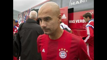 Bayern confía en Guardiola a pesar de incorpración tardía de mundialistas