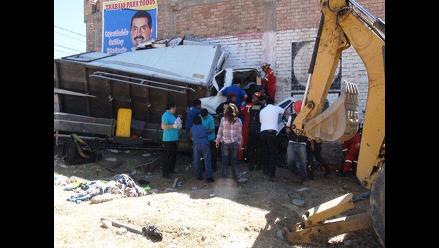 Cajamarca: accidente de tránsito deja tres heridos gravedad