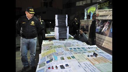 Incautaron documentos falsos en jirón Azángaro