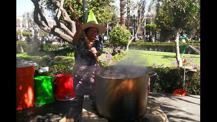 El Festival de la Chicha en Arequipa