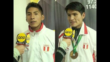 Huancayo: marchistas medallistas pasan penurias para entrenar
