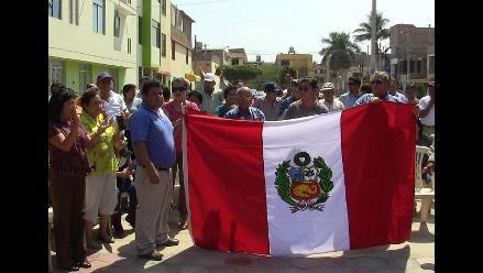 Chiclayo: pobladores protestan contra tala y remodelación de parque
