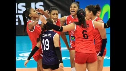 Perú se recuperó y venció 3-0 a Cuba en el Grand Prix de Voleibol