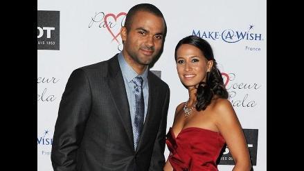 Estrella de la NBA Tony Parker se casó por segunda vez