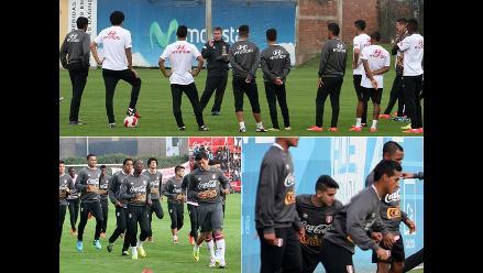 Selección peruana entrenó en medio del apoyo de los hinchas