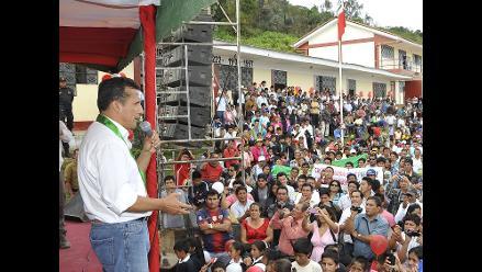 Ollanta Humala: Gobierno viene impulsando megaobras para el Bicentenario