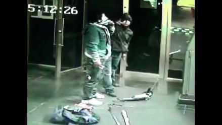 Intentan robar un cajero automático de un grifo en Punta Hermosa