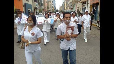 Pérdidas por un millón de soles deja huelga médica en Arequipa