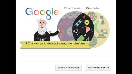 Google rinde homenaje al matemático británico John Venn