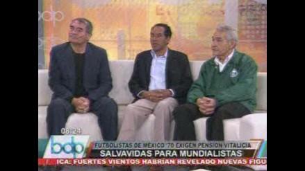 Fútbol peruano: Mundialistas de México 1970 piden pensión vitalicia