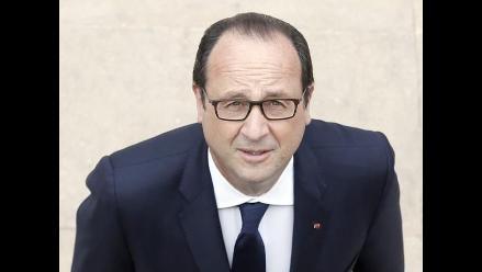 Presidente de Francia insta a poner fin a