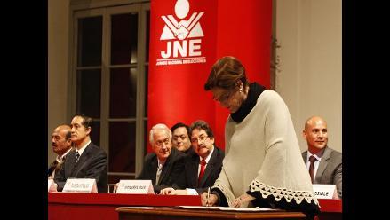 Candidatos a la Alcaldía de Lima firman Pacto Ético Electoral