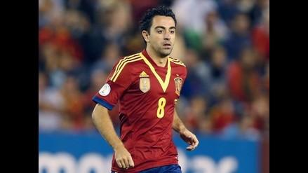 Xavi Hernández anuncia que no volverá a jugar con la selección española