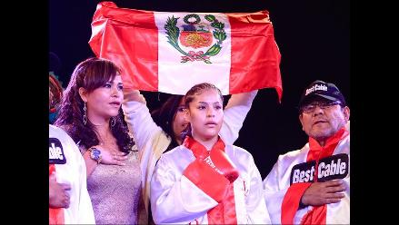 Linda Lecca defenderá su título mundial ante mexicana Guadalupe Martínez