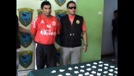 Chiclayo: detienen a sujeto con 500 ketes de pasta básica de cocaína