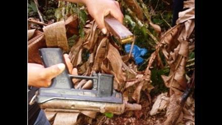 Cusco: hallan armamento de guerra en vía Echarati - Aguas Calientes
