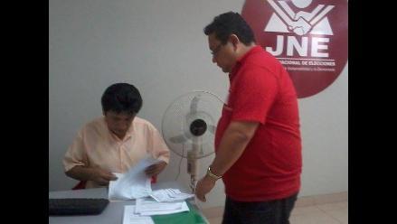 Chiclayo: formalizan tacha contra candidato regional de Fuerza Popular