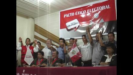 Cajamarca: firma de Pacto Ético será cerrado al público