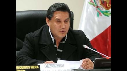 JNE confirmó tacha contra la candidatura de Carlos Burgos