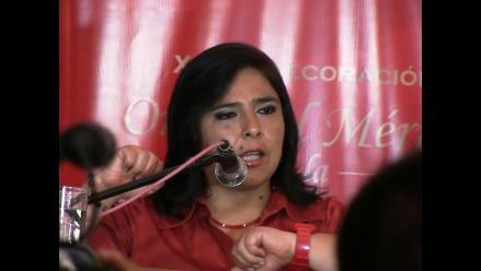 Ana Jara niega que vaya a postular a la Presidencia el 2016