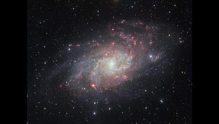 Captan una imagen más clara y precisa de la galaxia Messier 33