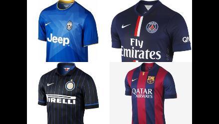 b9eb1a9369985 Estas son las camisetas más lindas de la temporada 2014-2015 en Europa