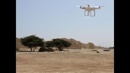 Trujillo: drones captan magnitud de ciudadela de Chan Chan