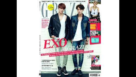 EXO: Mira el ´making of´ del Photoshoot de Kai y Sehun para Grazia