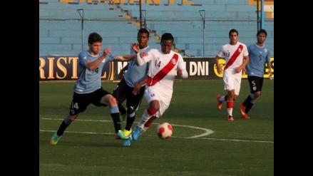 Selección peruana Sub 20 empató 1-1 con Uruguay en su segundo amistoso