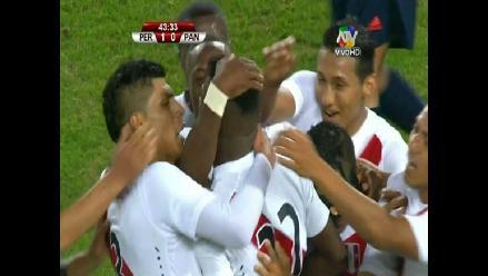 Perú vs. Panamá: Carlos Ascues anotó el primer tanto de la blanquirroja