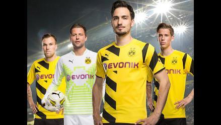 1a1726ae6c6bb Estas son las camisetas más lindas de la temporada 2014-2015 en Europa