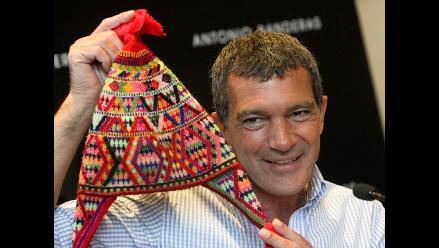 Antonio Banderas lloró al ver Machu Picchu con su hija