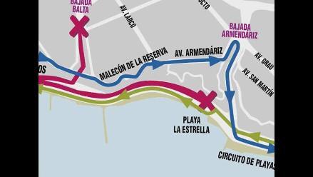 Inician trabajos de ampliación a tres carriles de la Costa Verde