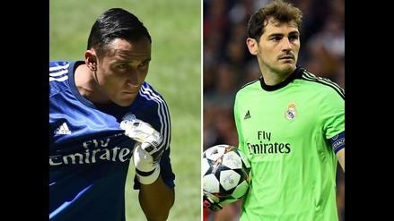 Real Madrid: Keylor Navas humilla en un ejercicio a Iker Casillas