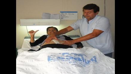 Chiclayo: extirpan tumor de 2 kilos de ovario de humilde mujer