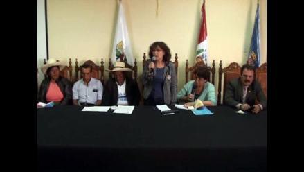 Cajamarca: senadora de Francia visita lagunas de proyecto minero Conga