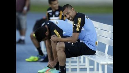 Luis Ramírez mostró sus cualidades técnicas en las prácticas de Botafogo