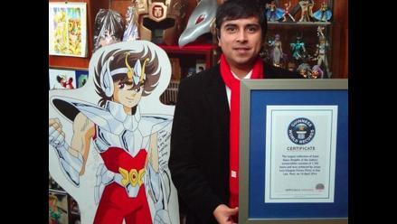 Caballeros del Zodíaco: coleccionista peruano bate récord mundial