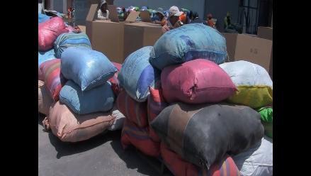 Tumbes: intervienen locales de adulteradores de marca de ropa