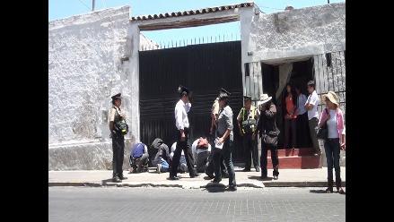 Arequipa: clausuran cantera por causar contaminación en Uchumayo