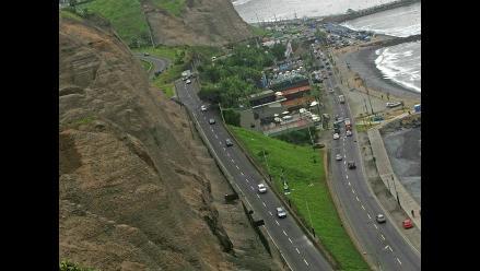 Municipalidad de Lima decide no parar obras en la Costa Verde