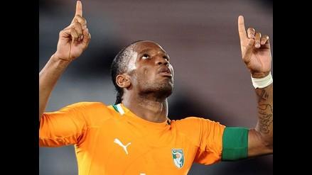 Didier Drogba le dice adiós a la selección de Costa de Marfil