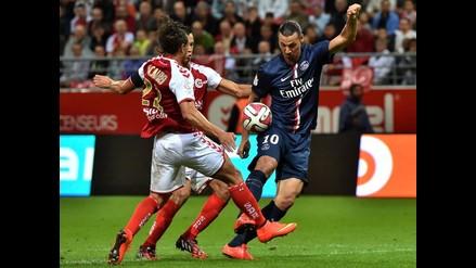 Zlatan Ibrahimovic falla penal y PSG no pasa del 2-2 con Stade de Reims