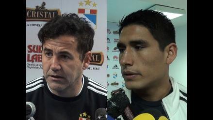 Sporting Cristal vs Alianza Lima: DT Ahmed y Ávila optimistas en la previa