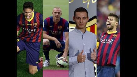 Barcelona: Los centrales de Luis Enrique para la presente temporada