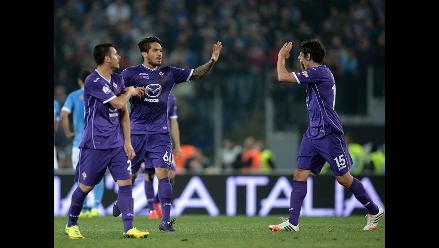 Fiorentina derrotó 2-0 al Málaga en partido disputado en España