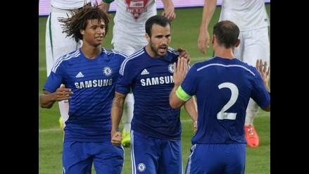 Chelsea venció en amistoso a Ferencvaros con golazo de Fábregas