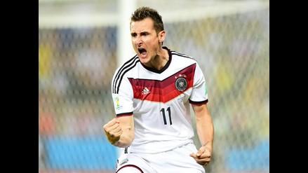 Miroslav Klose anuncia su retiro de la selección alemana con 36 años